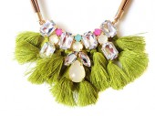 Necklace SheClassy Green 2
