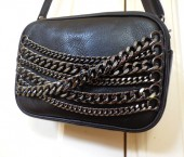 Theresa bag chains black she classy 1