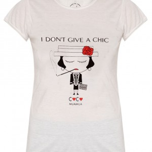 i don´t give a chic coco sheclassy tshirt