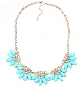 Spring 2015 sheclassy ketting blauw turquois